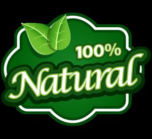 100-natural-logo